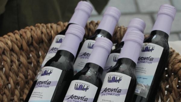 Aronia Muttersaft 0,25 ltr. Flasche