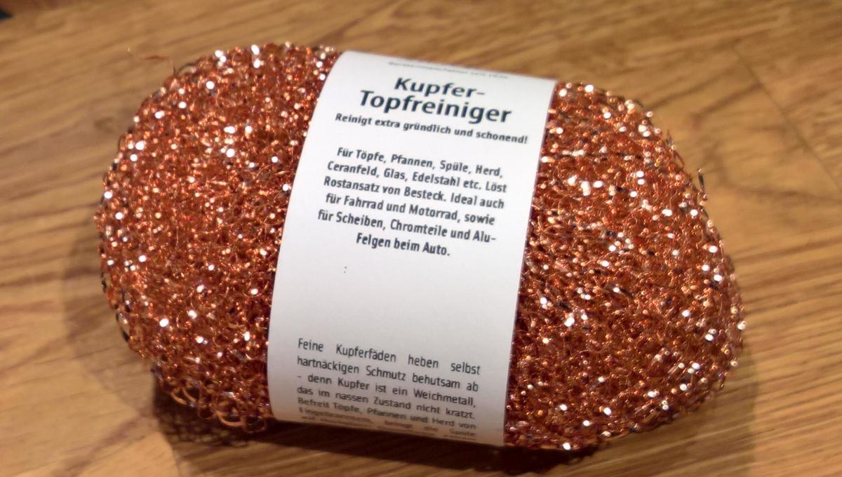 Kupfer Topfreiniger 2 Stück