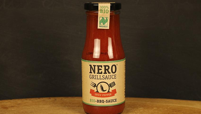 Grillsauce Spicy Pepper, NERO 250ml