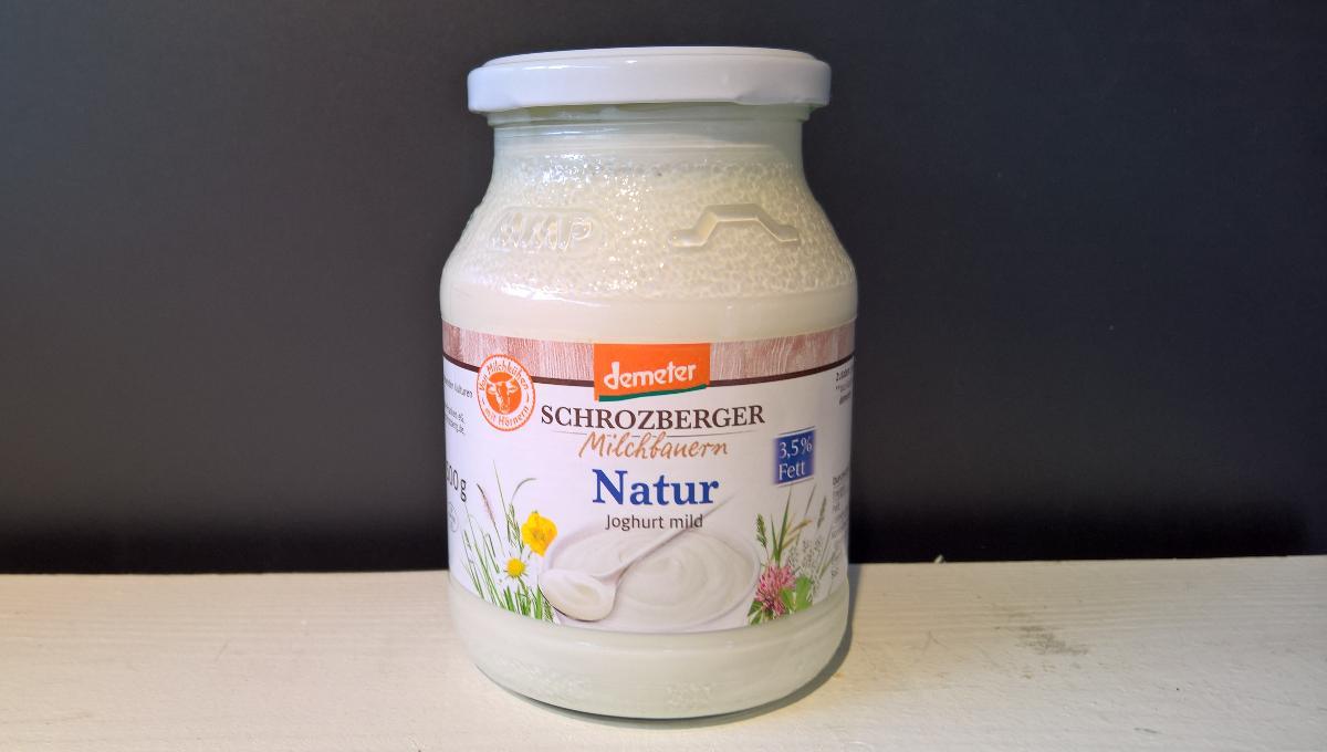 Joghurt Vollmilch natur Schrozberger 500g