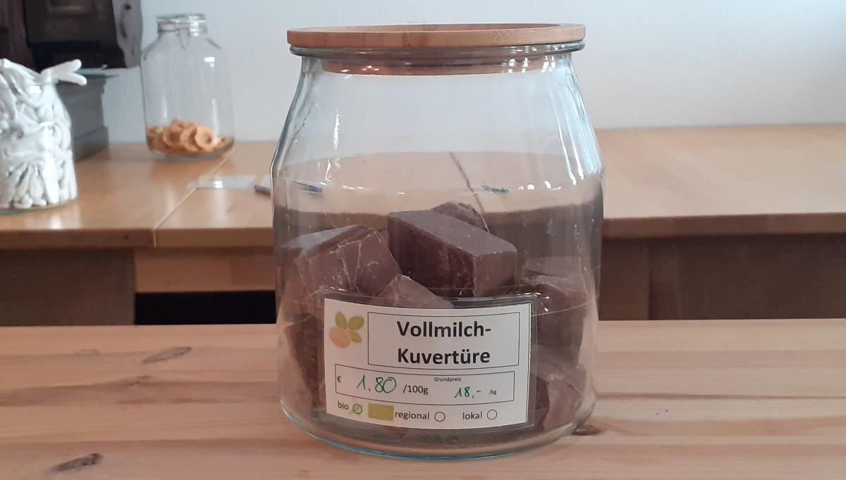 Vollmilch-Kuvertüre