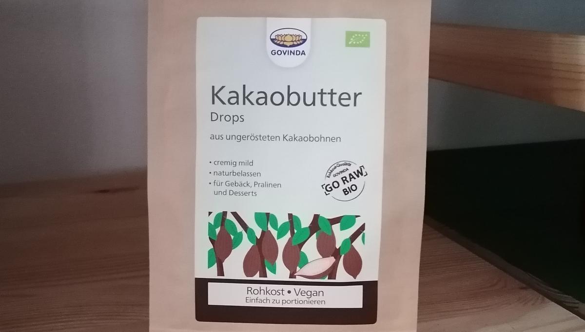 Kakaobutter Drops