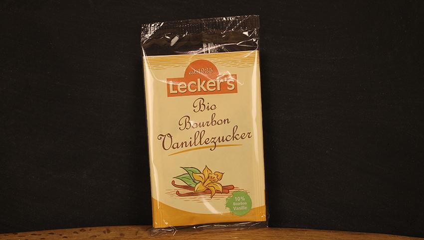 Bourbon Vanillezucker, Leckers 2x8g