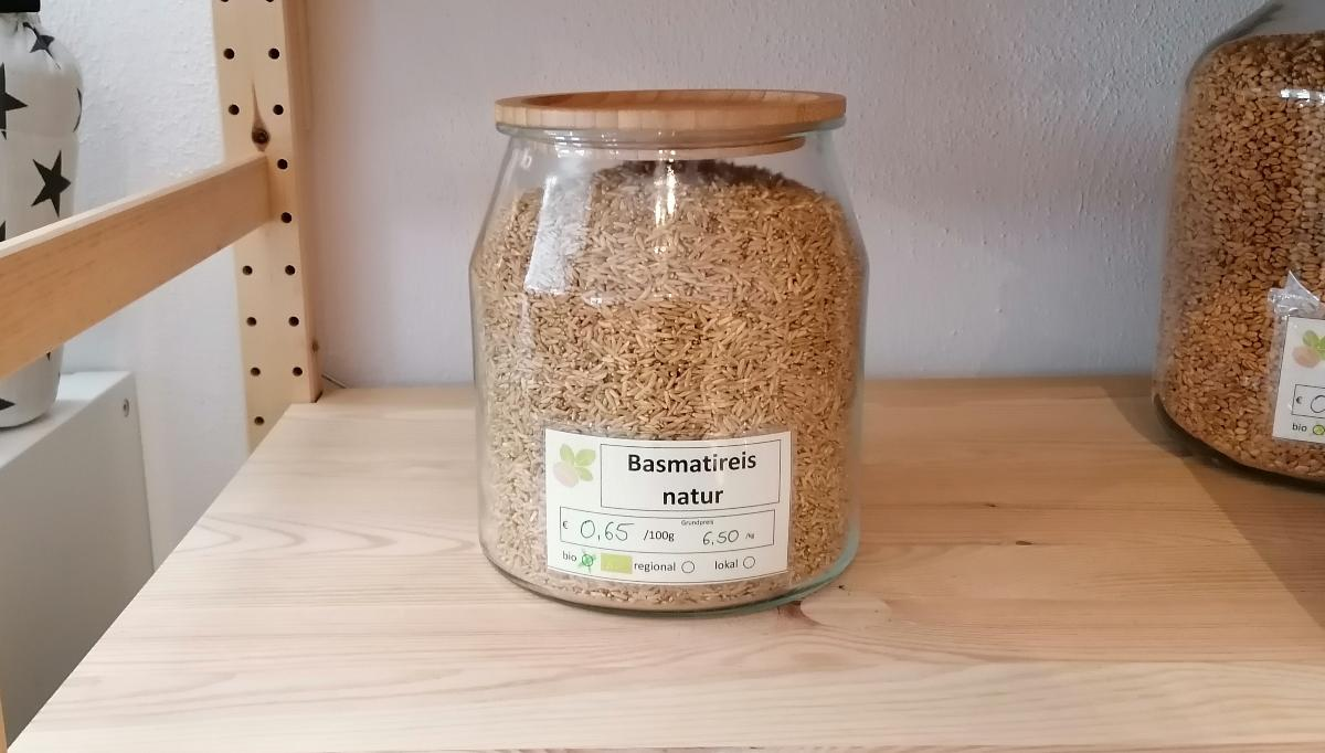 Basmatireis Natur