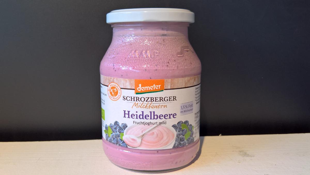 Joghurt Heidelbeer 500g Schrozberger