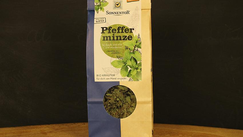 Pfefferminze Tee, Sonnentor 50g