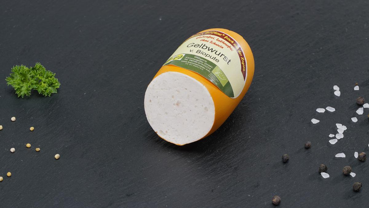 Bio Puten-Gelbwurst