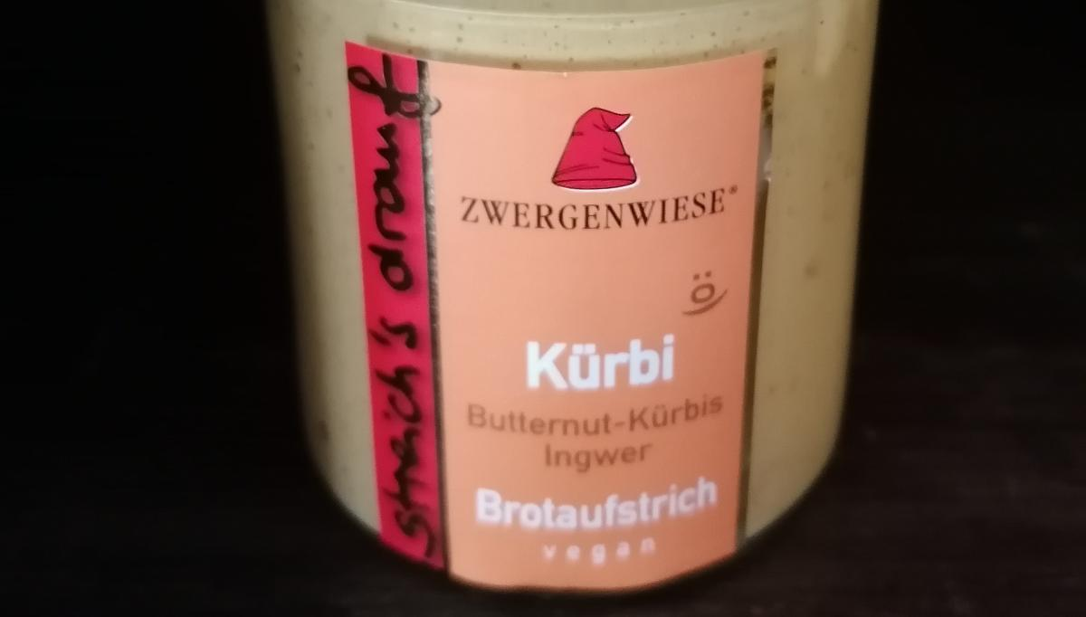 Aufstrich Zwergenwiese: Streich´s drauf - Kürbi / Butternut-Kürbis und Ingwer