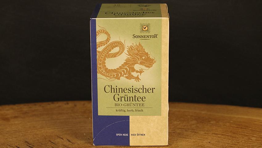 Chinesischer Grüntee Beutel, Sonnentor 20 Stk