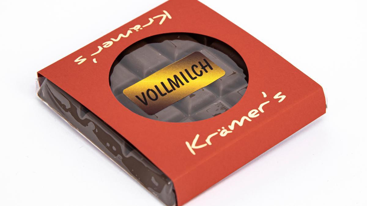 Vollmilch Schokolade 50g Krämer