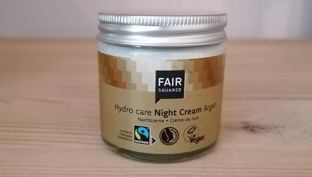 Fair Squared - Night Cream Argan, Hydro Care