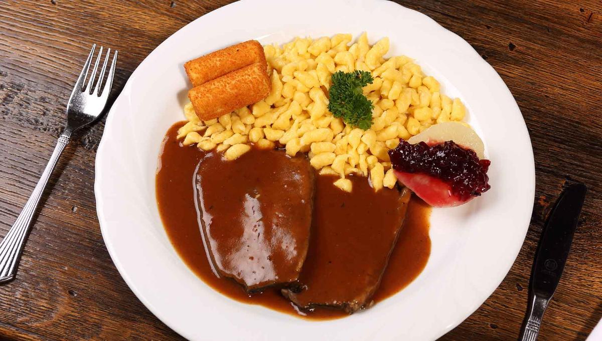 Burgunderbraten vom bayrischen Jungbullen | Rotweinsoße