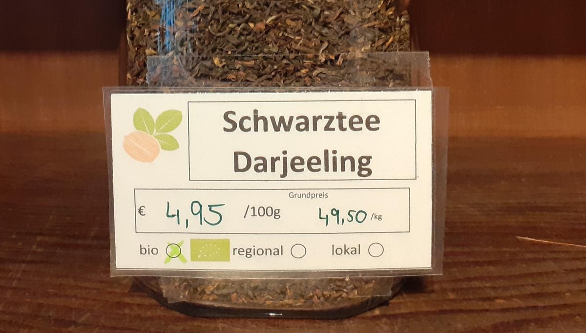 Schwarztee Darjeeling