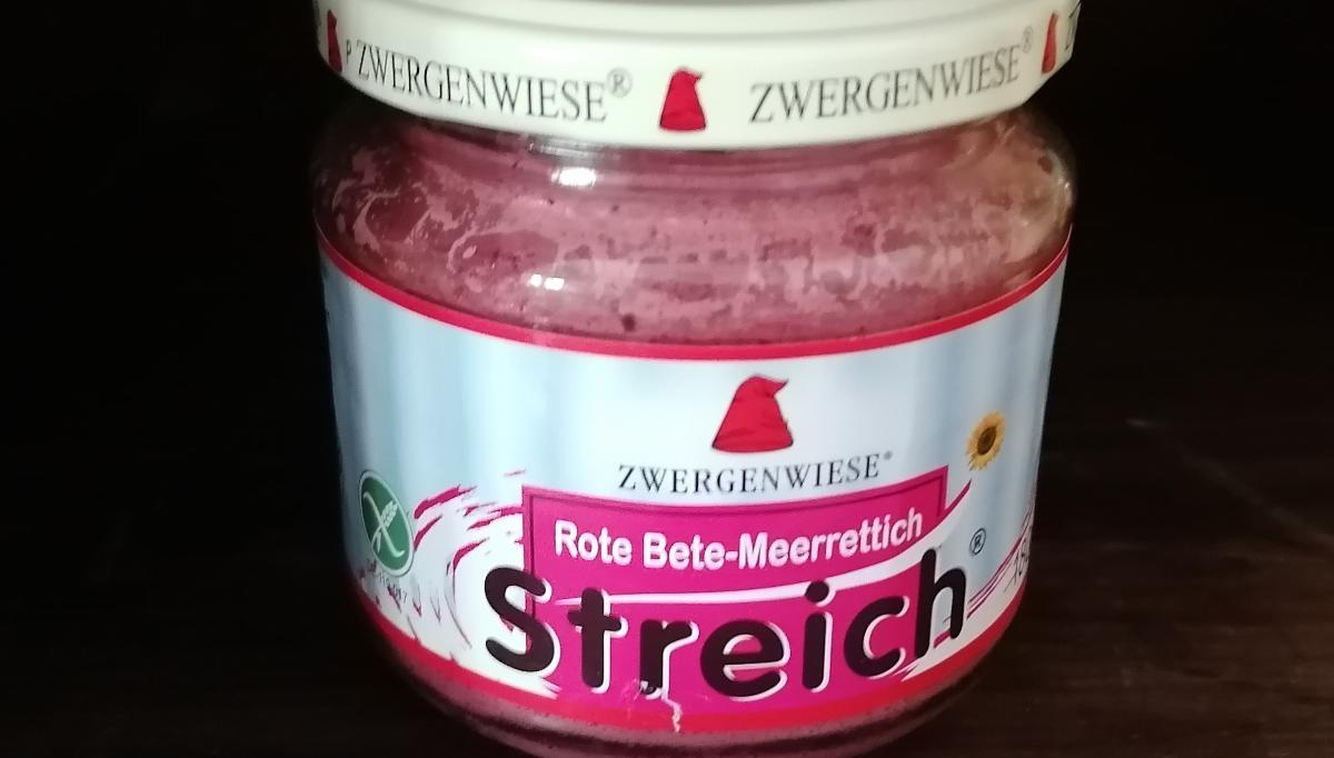 Aufstrich Zwergenwiese - Rote Bete-Meerrettich