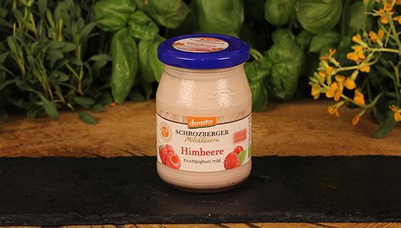 Joghurt Himbeer Schrozberger 500g