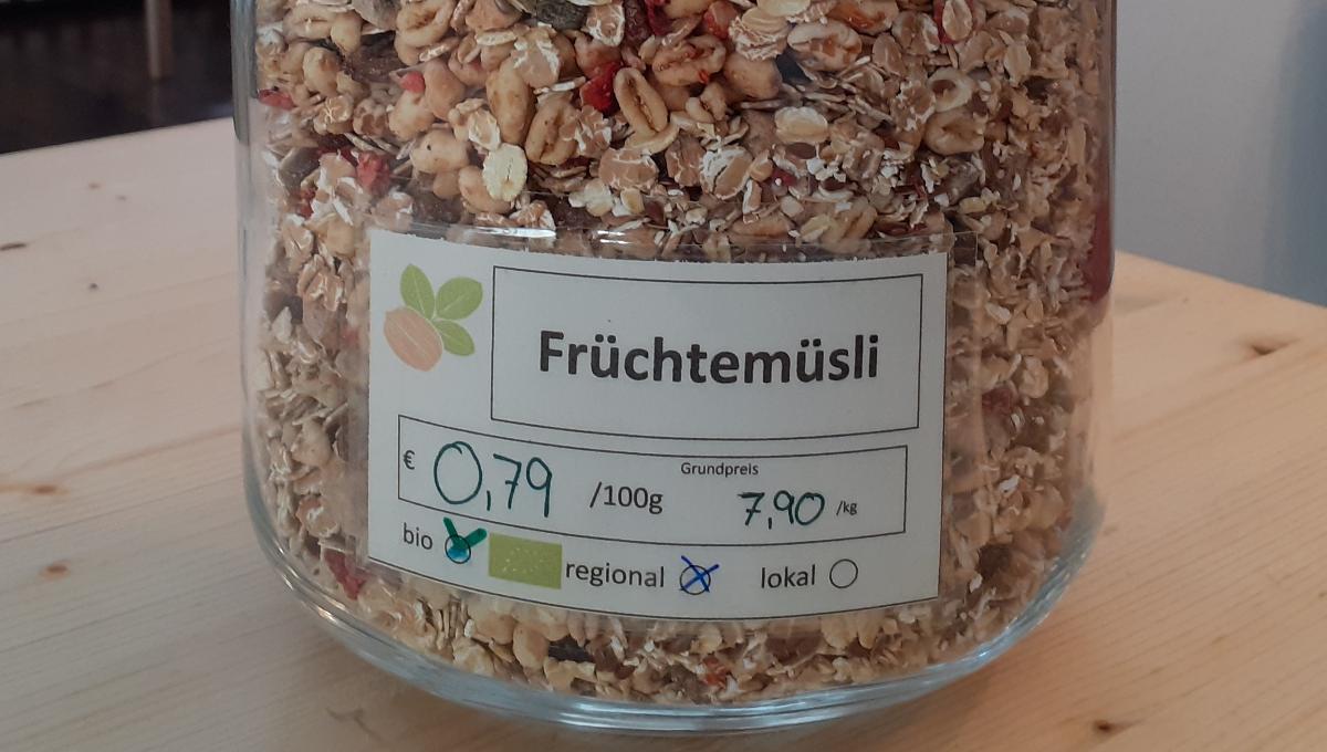 Früchtemüsli