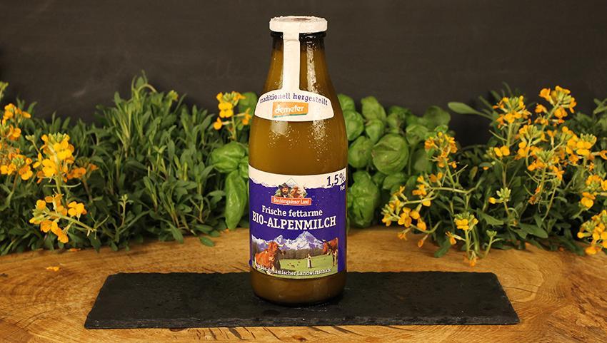 Milch 1,5% Berchtesgadener Land