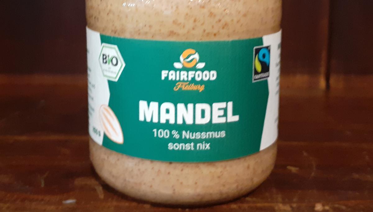 Mandel, 100 % Nussmuss sonst nix