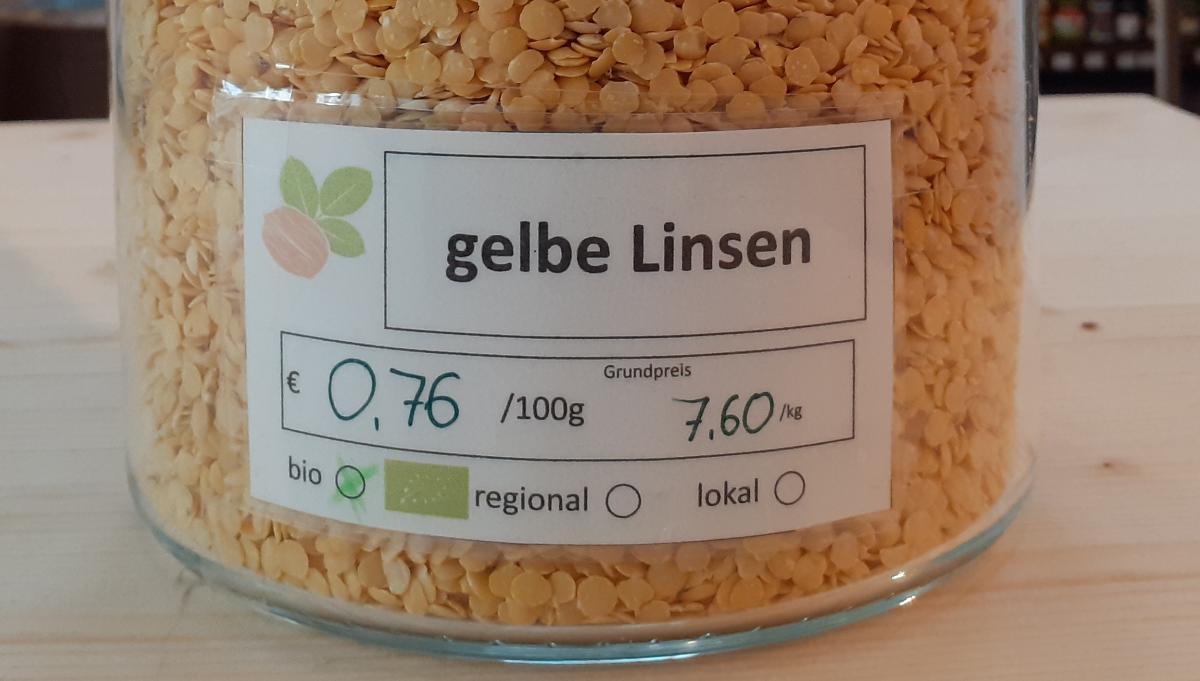gelbe Linsen
