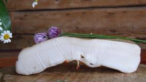 Weißer Rückenspeck (Lardo)