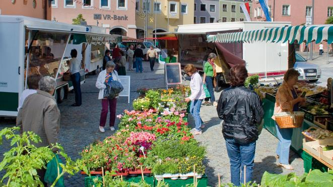 Wochenmarkt Pfarrkirchen