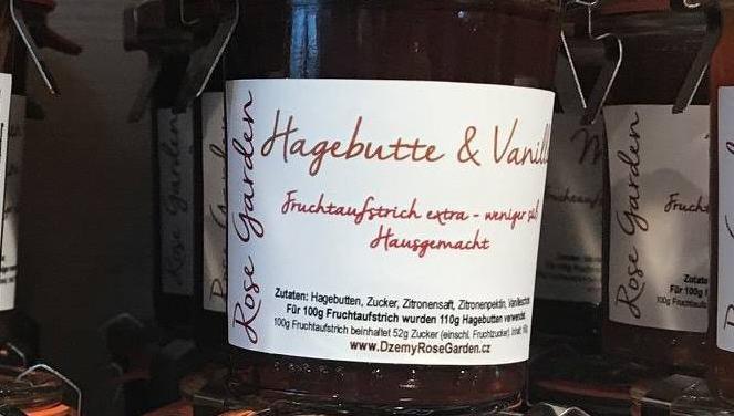Fruchtaufstrich Hagebutte & Vanille