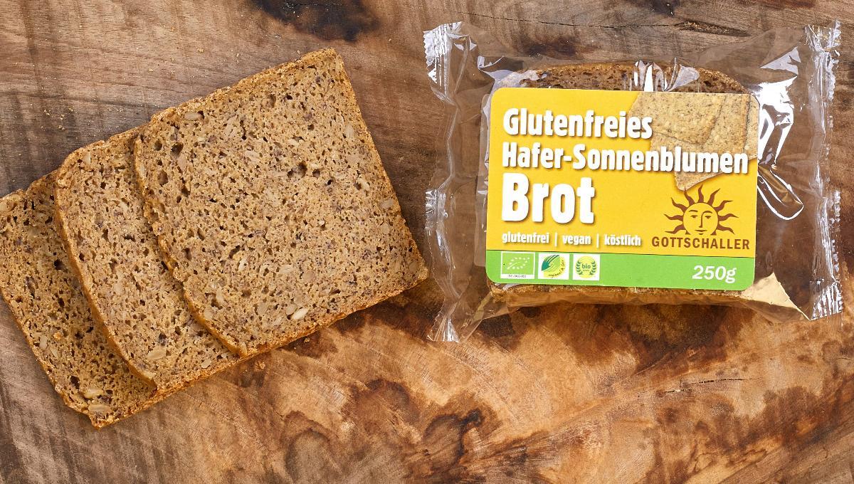 Hafer-Sonnenblumen-Brot