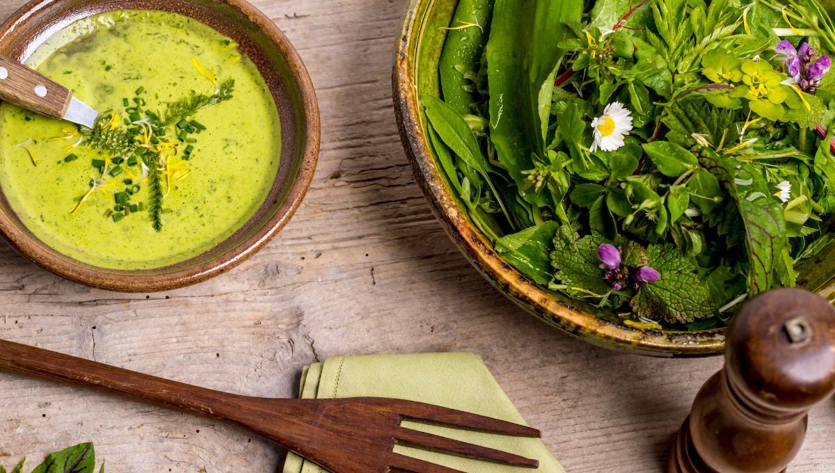 Wilder-Wiese-Salat