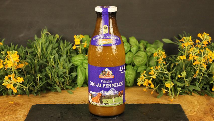 Milch 3,8% Berchtesgadener Land