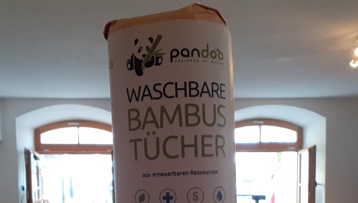 waschbare Bambustücher von Pandoo