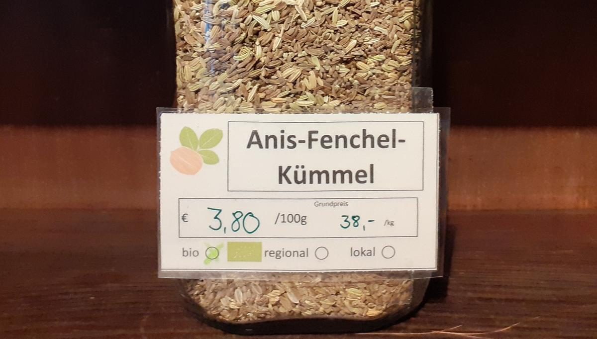 Anis-Fenchel-Kümmel