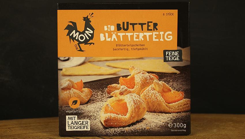 Butter Blätterteigplatten TK 300g