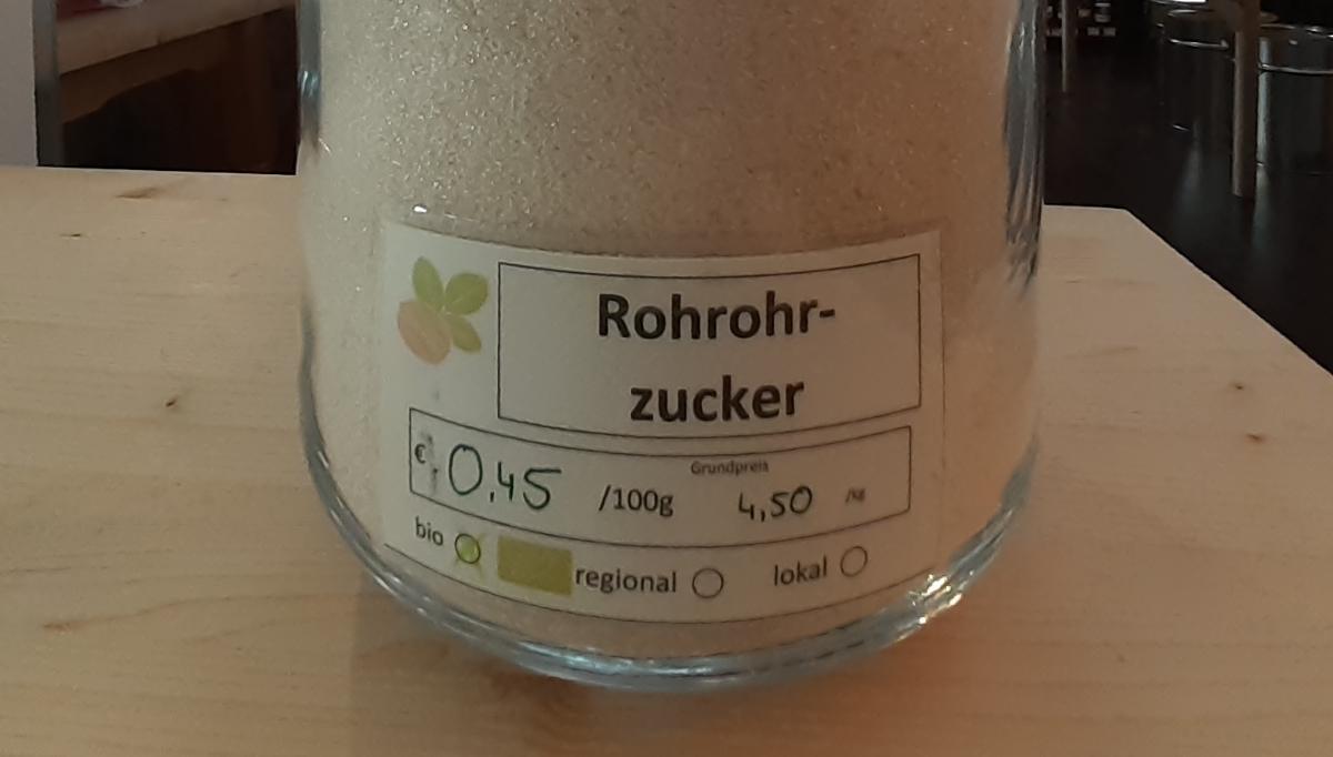 Rohrohrzucker