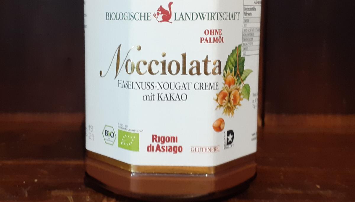 Nocciolata, Haselnuss-Nougat Creme mit Kakao, groß