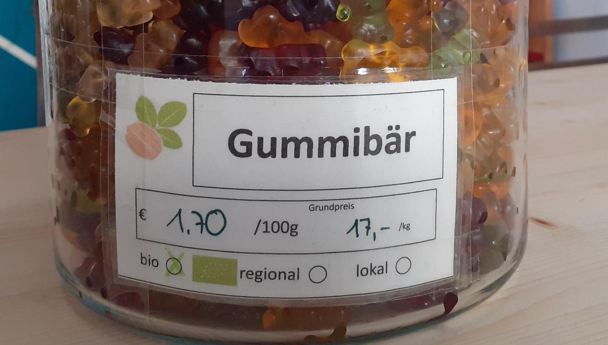 Gummibärchen mit Gelatine