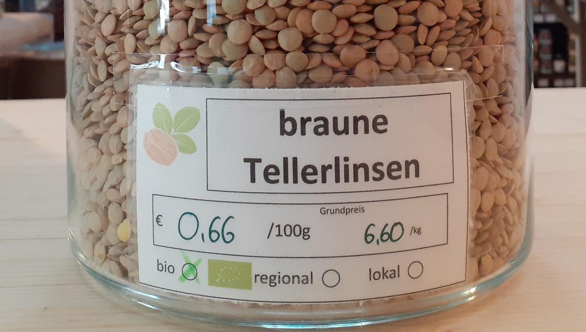 braune Tellerlinsen