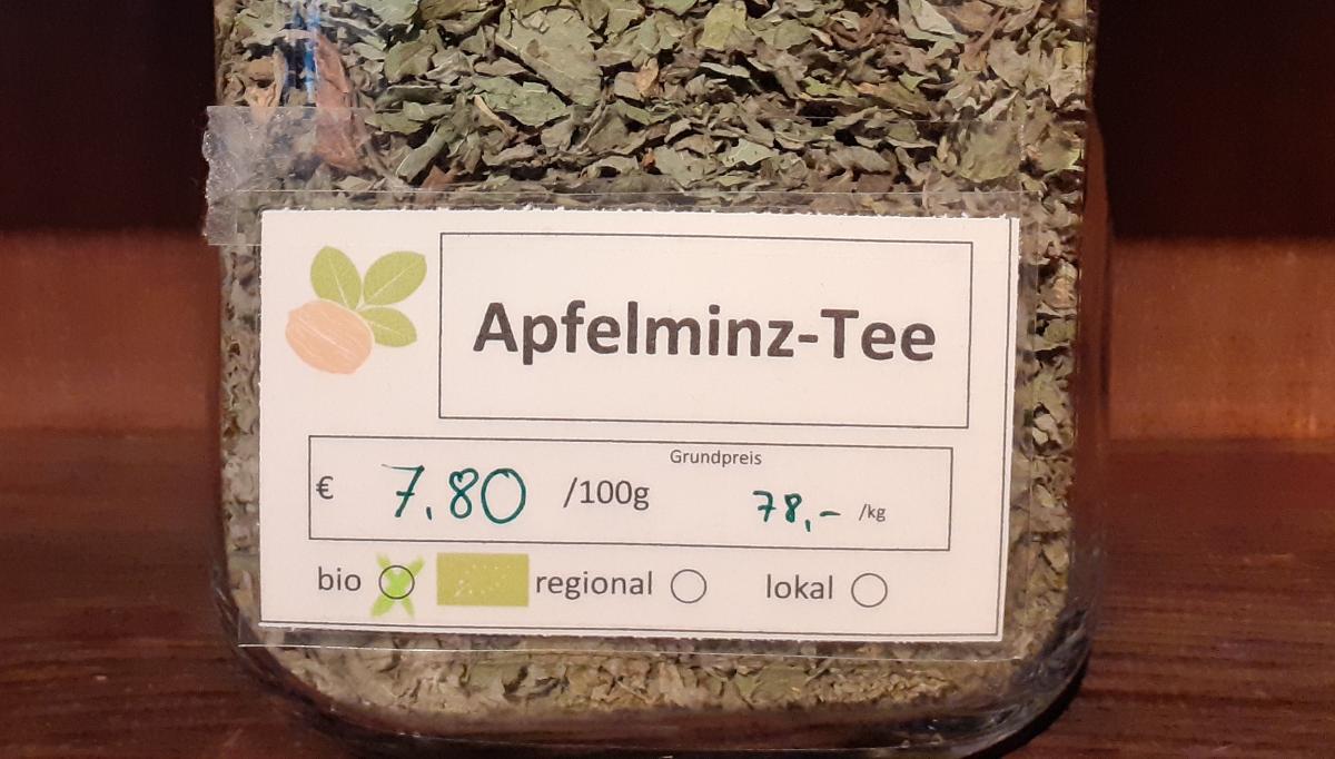 Apfelminz-Tee