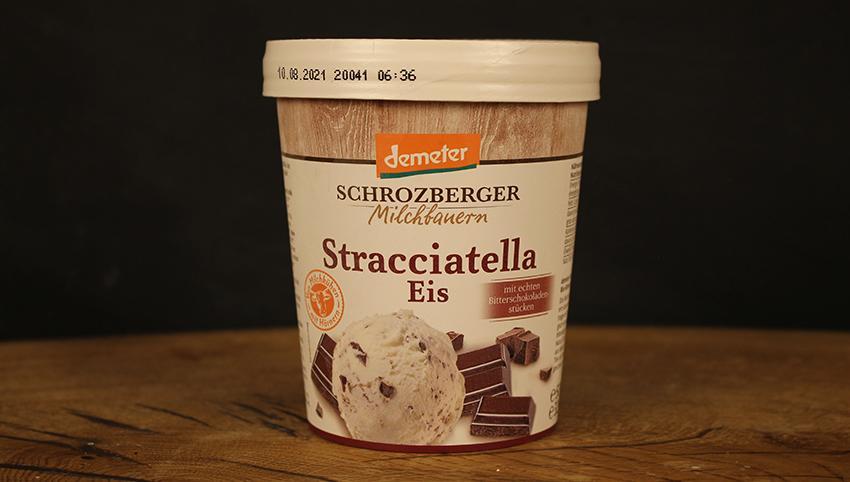 Eis Stracciatella Schrozb