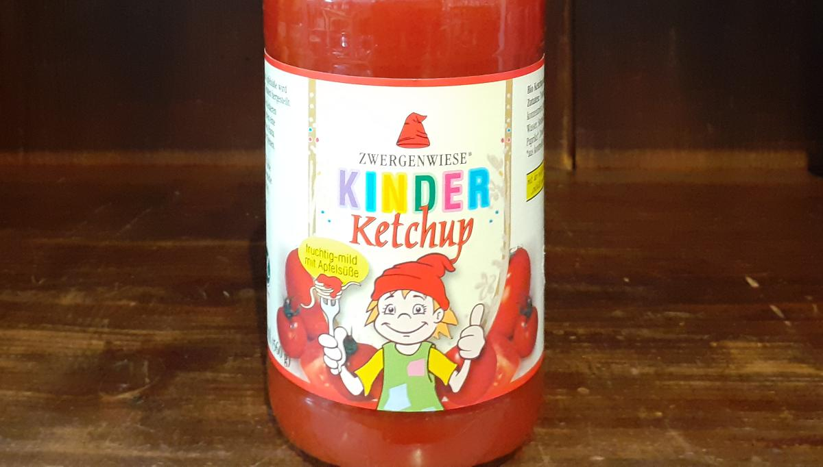 Ketchup, Kinder